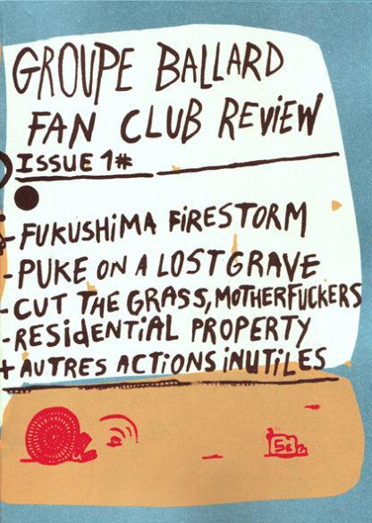 Groupe Ballard : Fan Club Review Issue #1