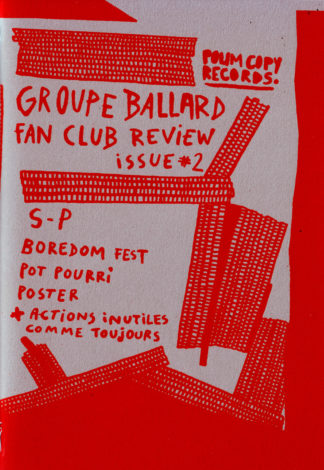 Groupe Ballard : Fan Club Review Issue #2