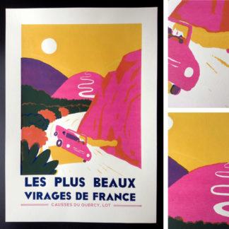 FABULOT : LES PLUS BEAUX VIRAGES DE FRANCE